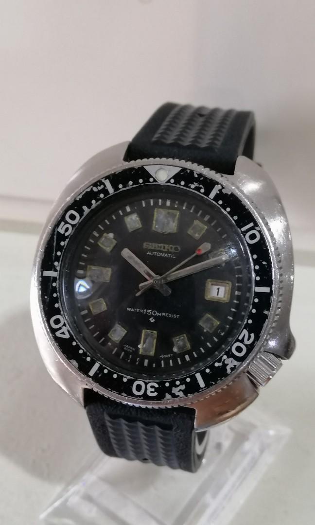 Seiko diver 6105 8110 Captain Willard automatic Vintage
