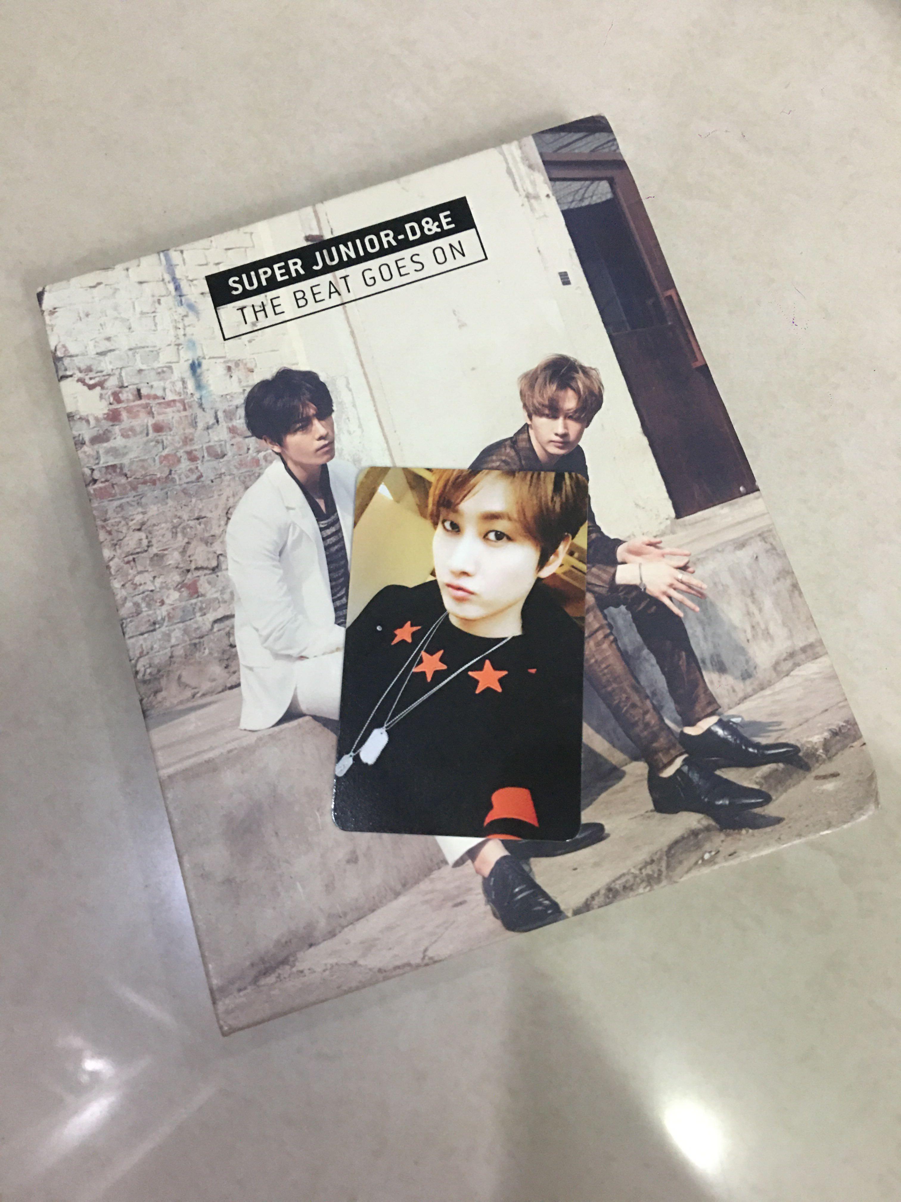 Super Junior D&E The 1st Mini Album The Beat Goes On Standard Edition