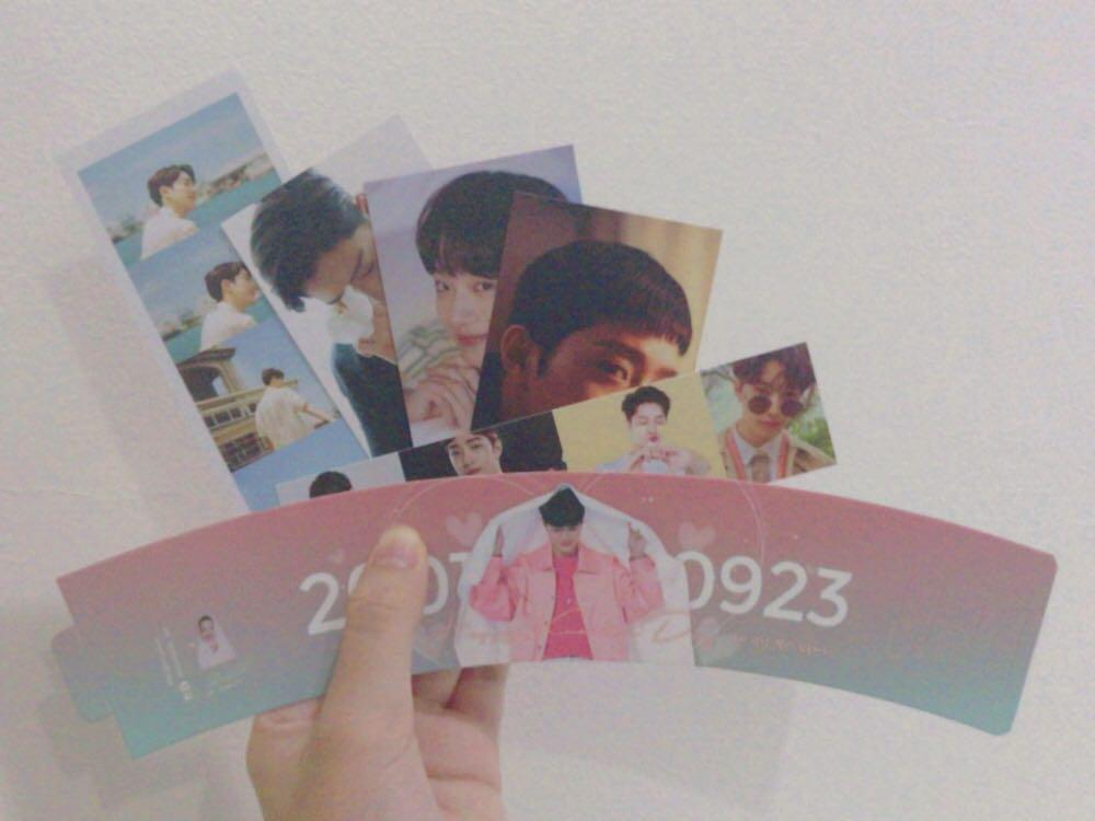 [WTS] Lai Kuanlin Cupsleeve + Bookmarks + Photocards