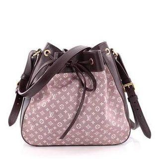 Authentic Louis Vuitton Noe Handbag Monogram Idylle PM