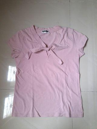 Baby Pink Shirt by Giordano