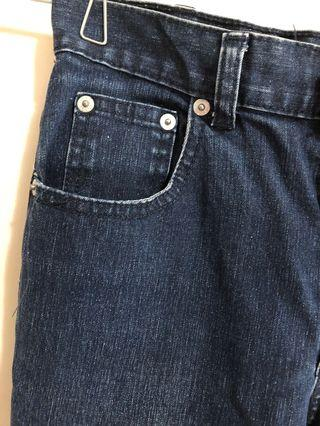 🟨Gap 深藍牛仔褲