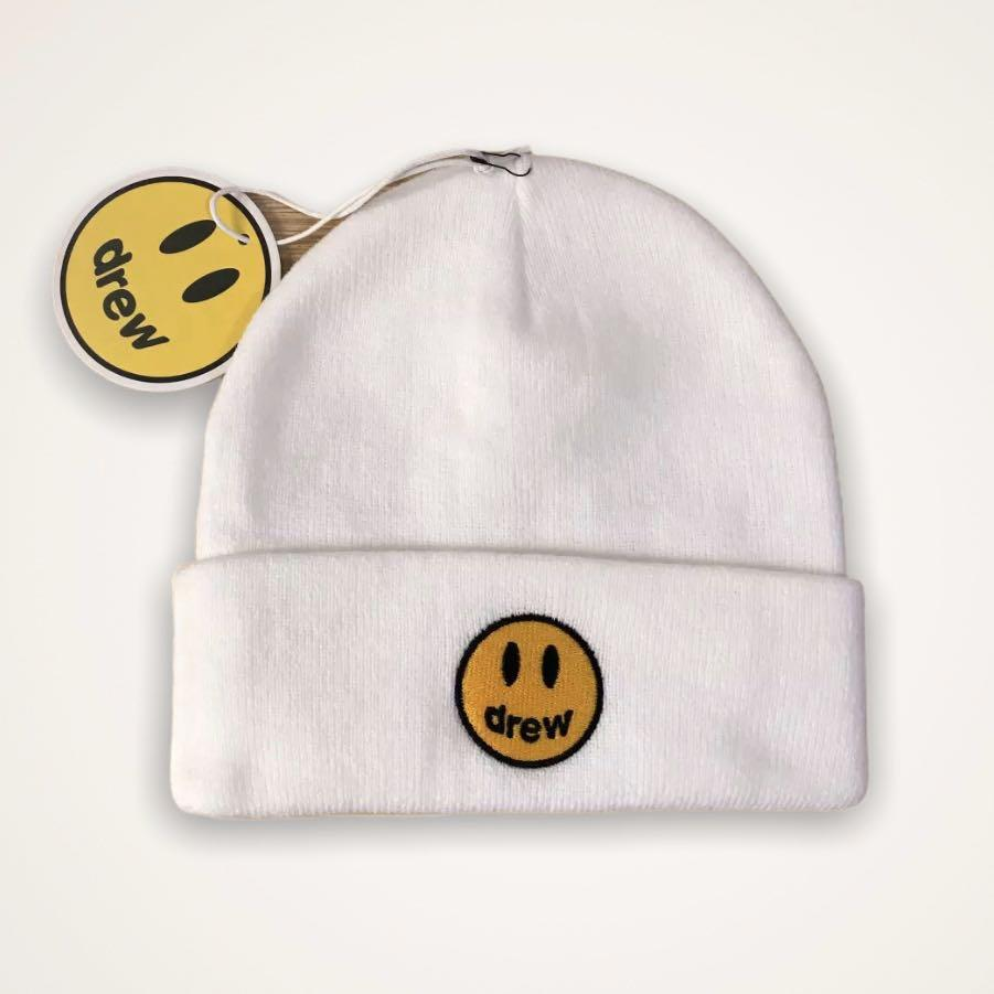 SHIPPING ONLY—DREW HOUSE JUSTIN BIEBER smile beanie dupes