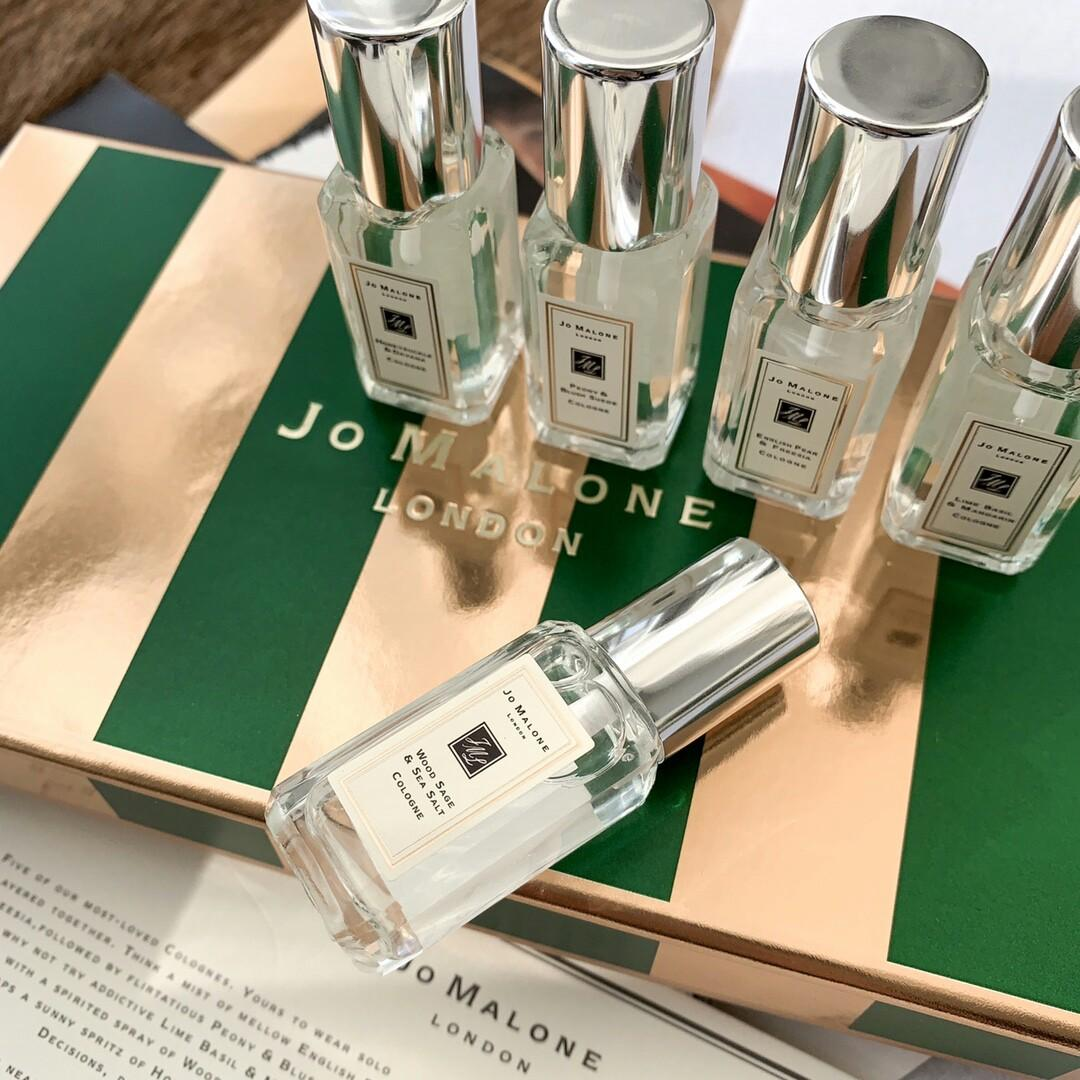 Original Jomalone OG JOMALONE Orange Blossom- English Pear Freesia- Wild Bluebell- Lime Basil Mandarine - Zumalong limited five-piece la