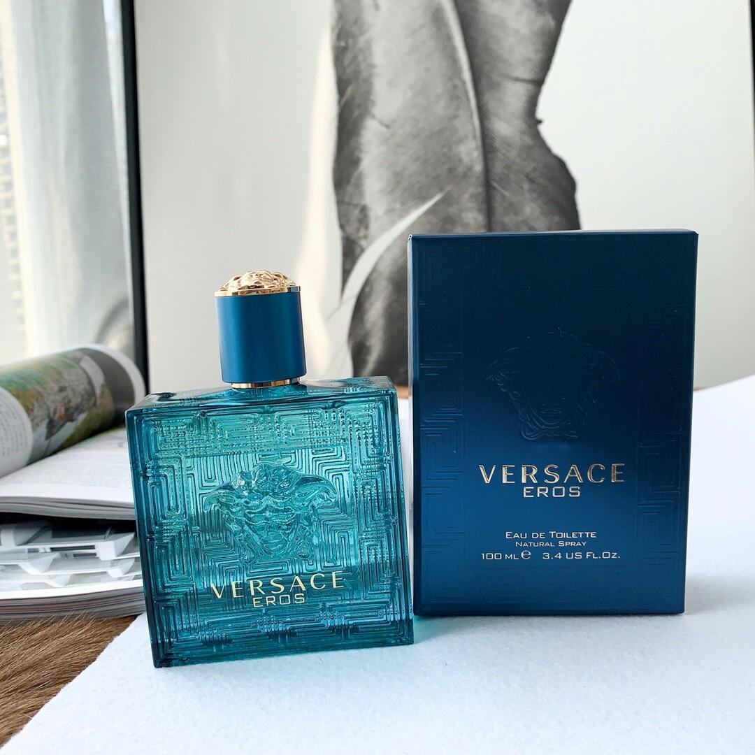 Original VersaceGianniVersaceEros Brian ShimanskyVERSACEVERSACEDonatella Versace Eros VersaceEROSBrain Shimansky Very classic male fragrance Ve