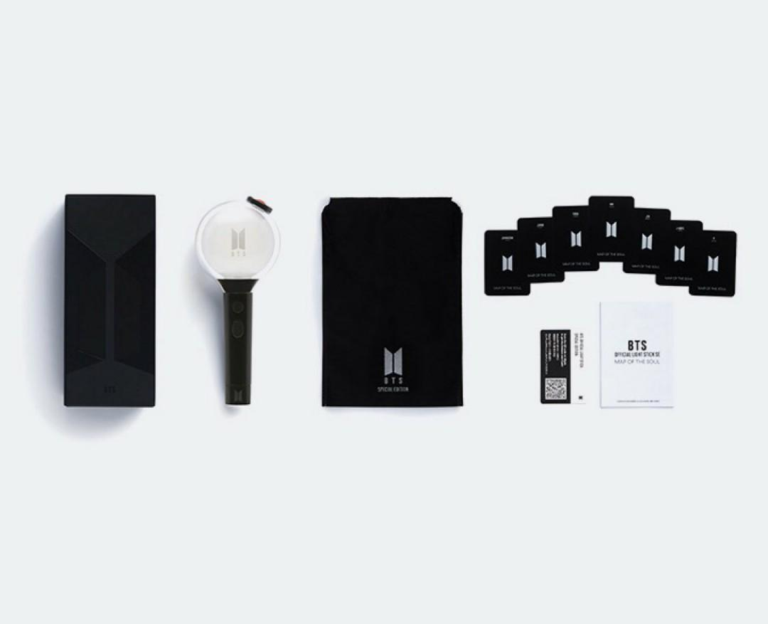 BTS LIGHT STICK MAP OF THE SOUL MOTS SPECIAL EDITION