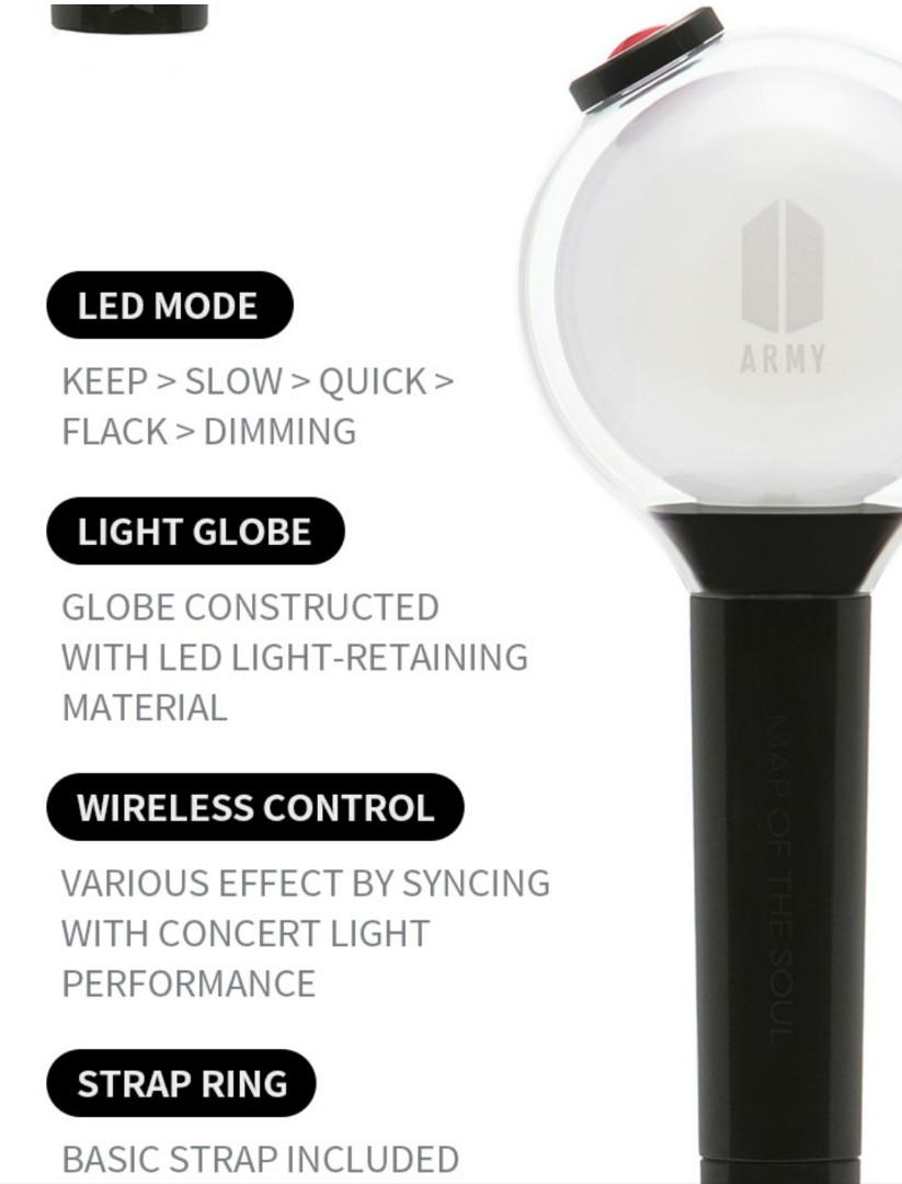 BTS ARMY BOMB OFFICIAL LIGHTSTICK MAP OF THE SOUL SPECIAL EDITION
