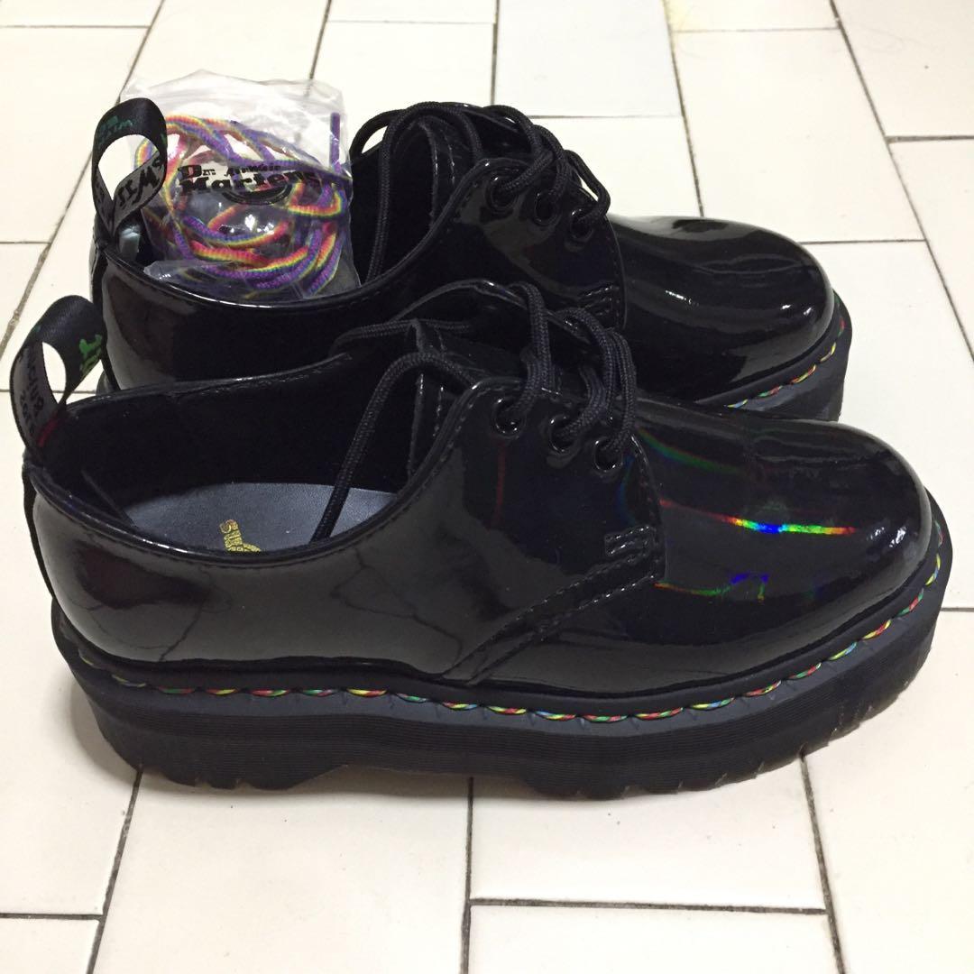 doc marten platform heels