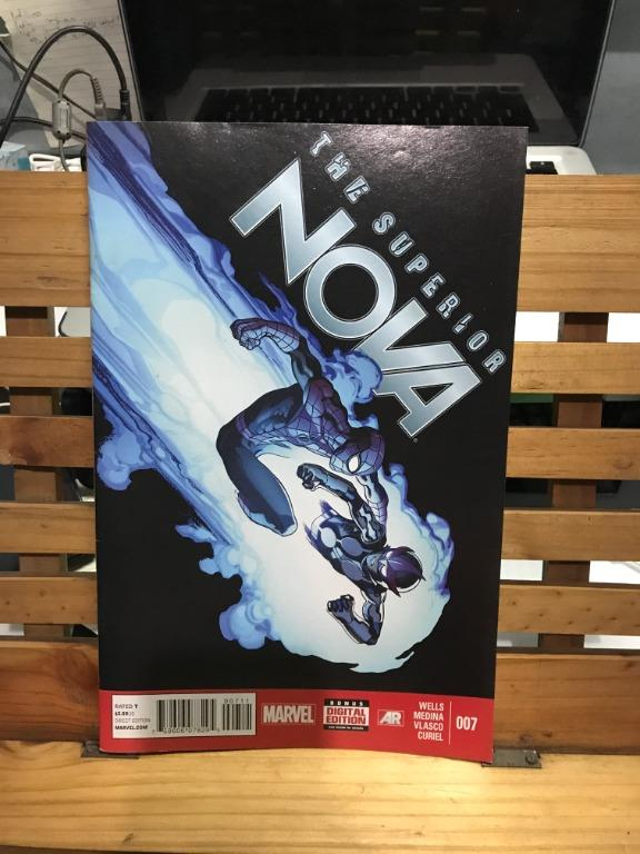 Marvel Comics Infinity The Superior Nova 007 008 set Spider-Man Thanos on cover