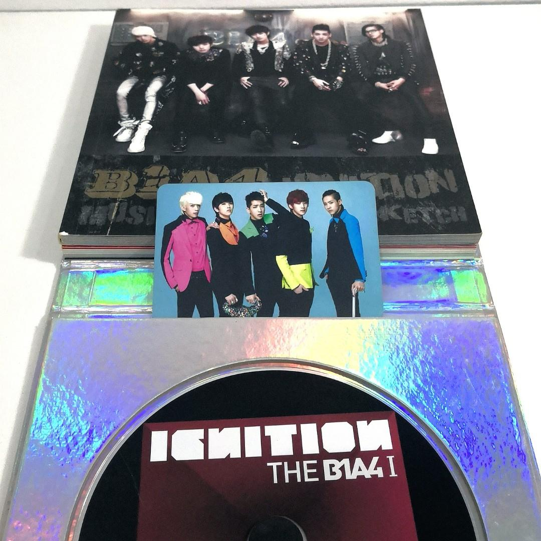 The B1A4 1 IGNITION album + photo card Baro & group