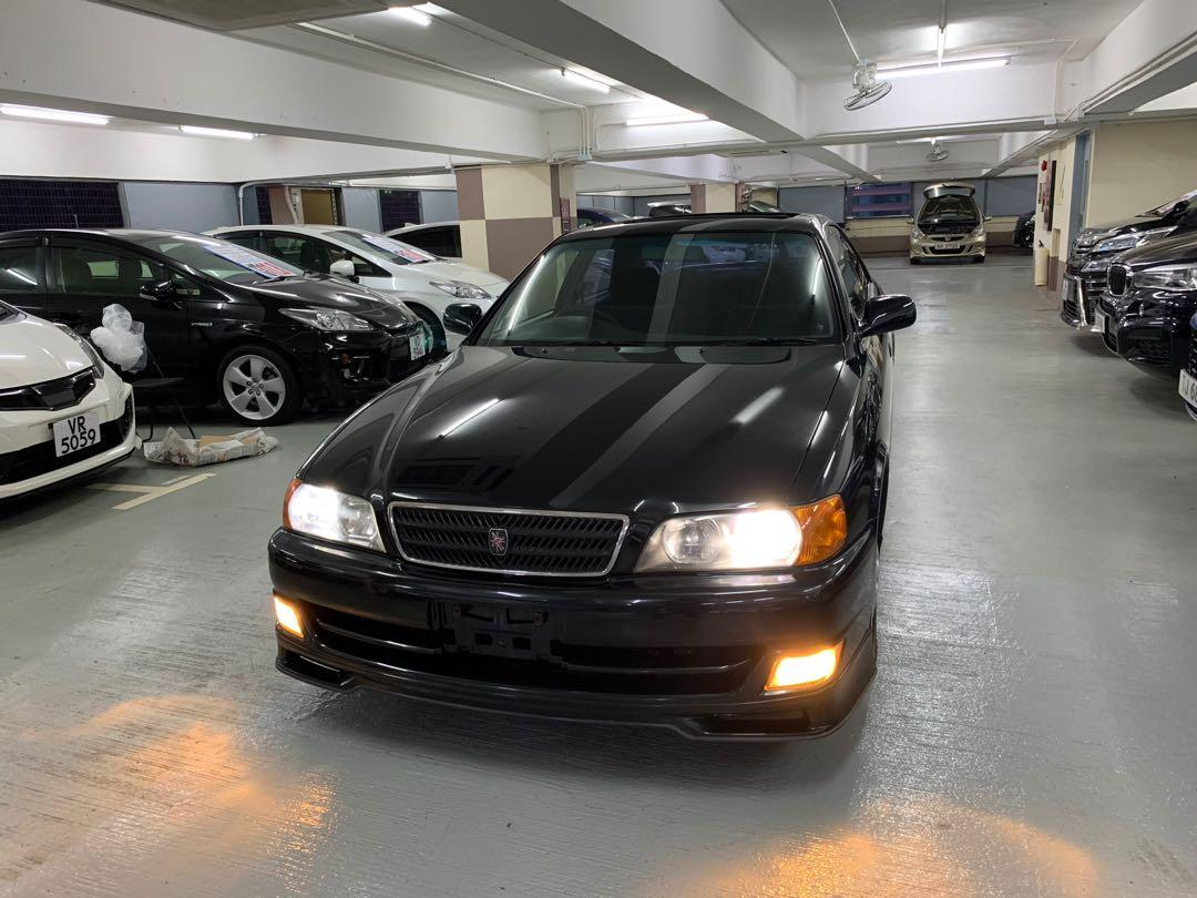 Toyota CHASER TURBO  Jzx100  Manual