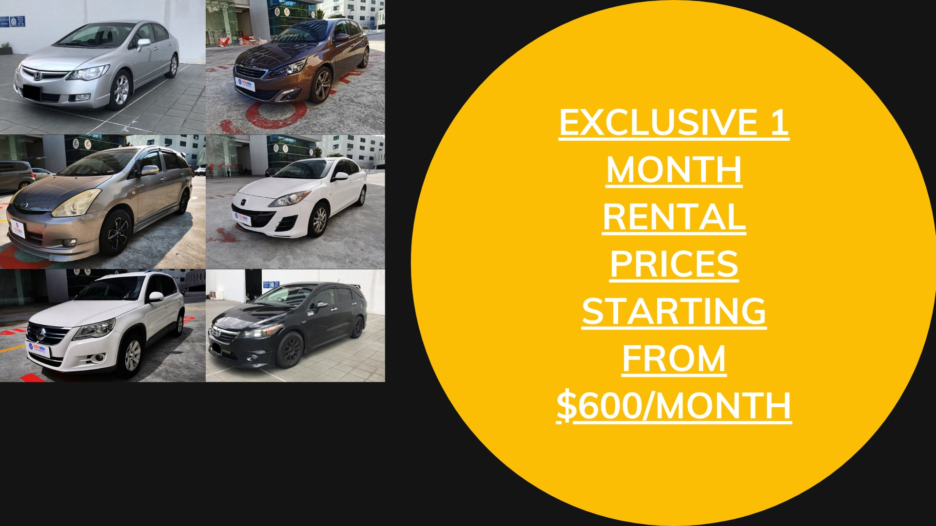 EXCLUSIVE 1 MONTH RENTAL PERIOD FOR PANDEMIC PERIOD ENQUIRE NOW!