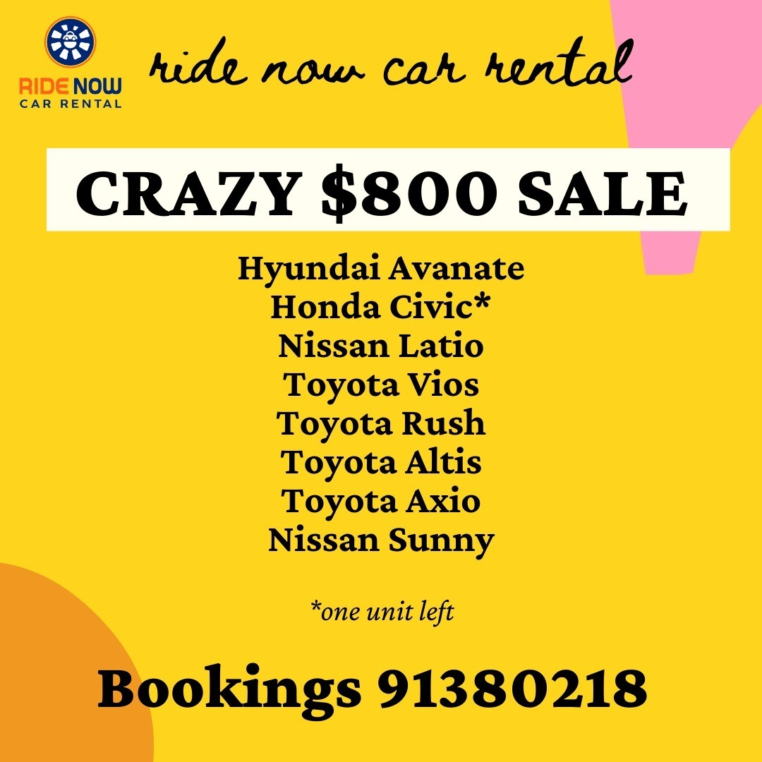 All time lowest price for car rental! Best time to rent a vehicle now!