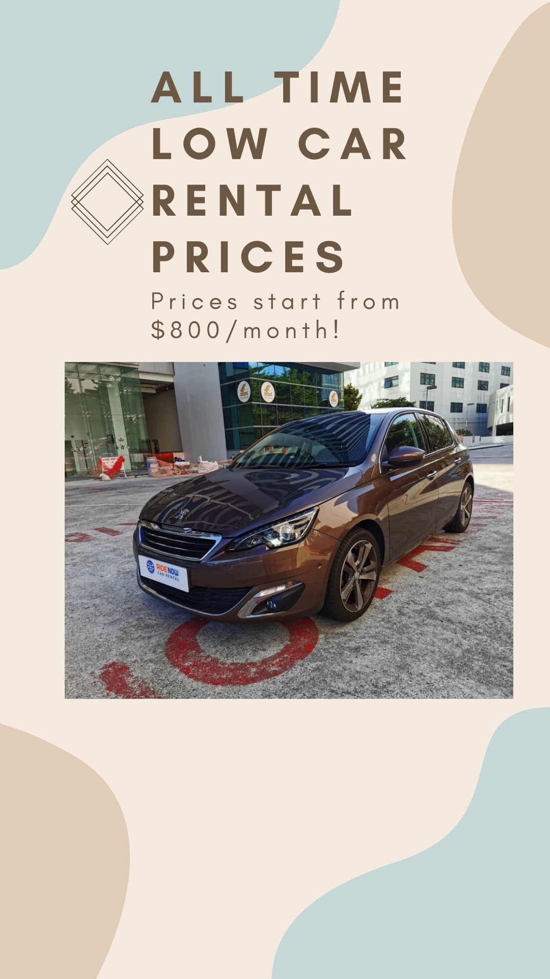 Cheap Car Rental deals during Circuit Breaker! Enquire with us now!