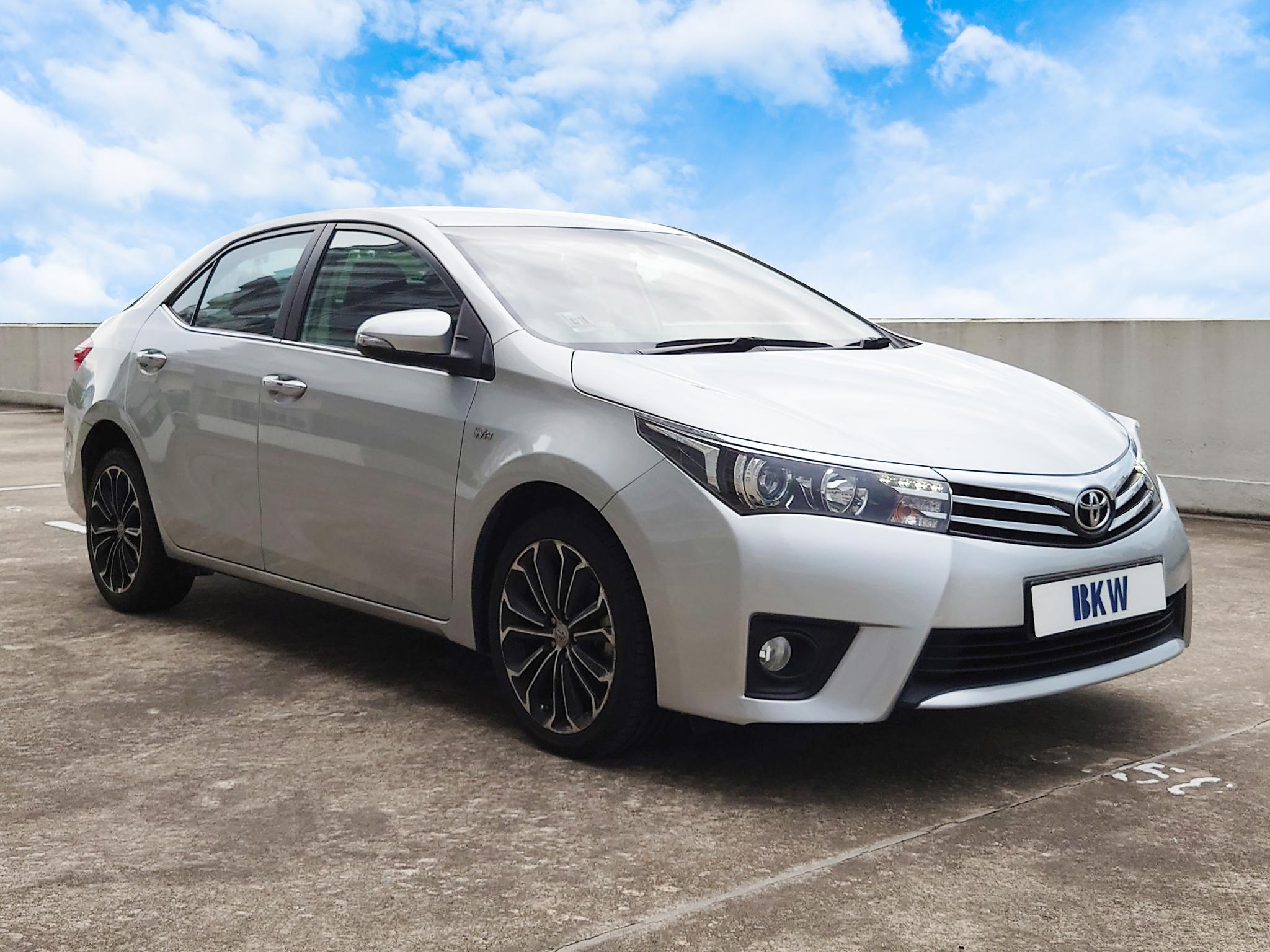 Toyota Altis 1.6A - BKW Rent A Car