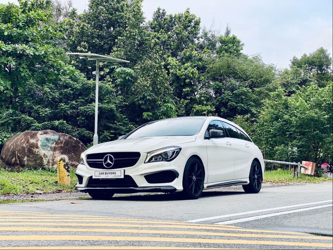 MERCEDES BENZ CLA200 SB URBAN (R18 LED)