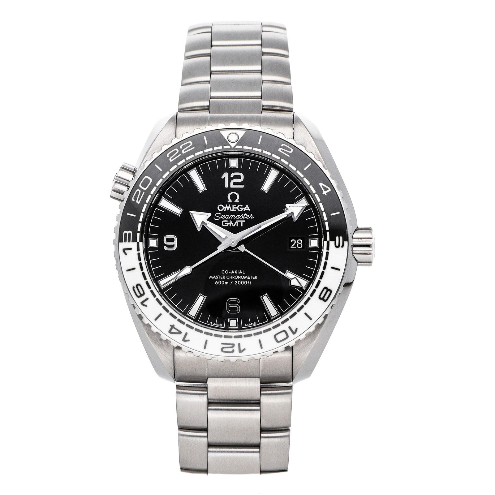 Pre-Owned Omega Seamaster Planet Ocean 600m GMT 215.30.44.22.01.001