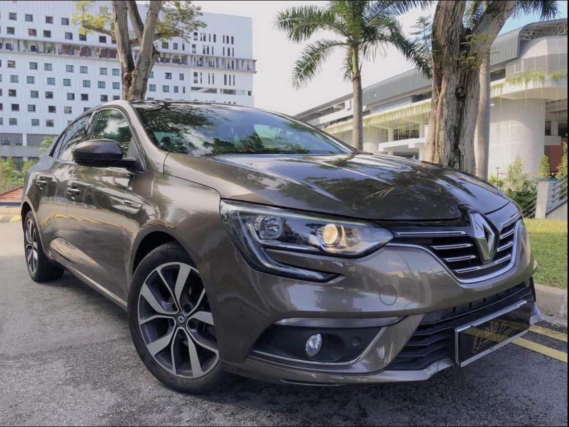RENAULT MEGANE SEDAN 1.2 TCE AT EU6
