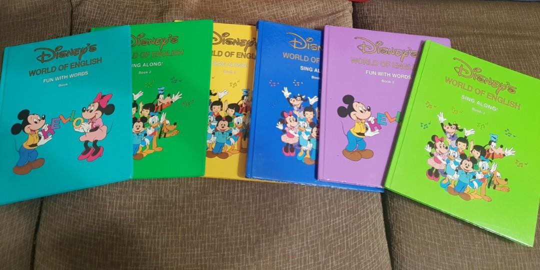 《迪斯尼》英文書6本原價近2000,9成新唯此6本唷