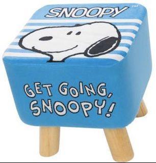康是美 史努比 Snoopy 木頭椅 暖毯 杯套