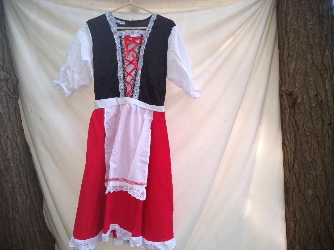 🎃 Little Red Riding Hood Halloween costume (XL)