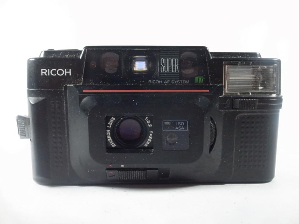 [一直攝] Ricoh FF-3D AF Suoer 底片相機 (零件機)