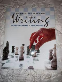 A Students Guide to Academic Writing