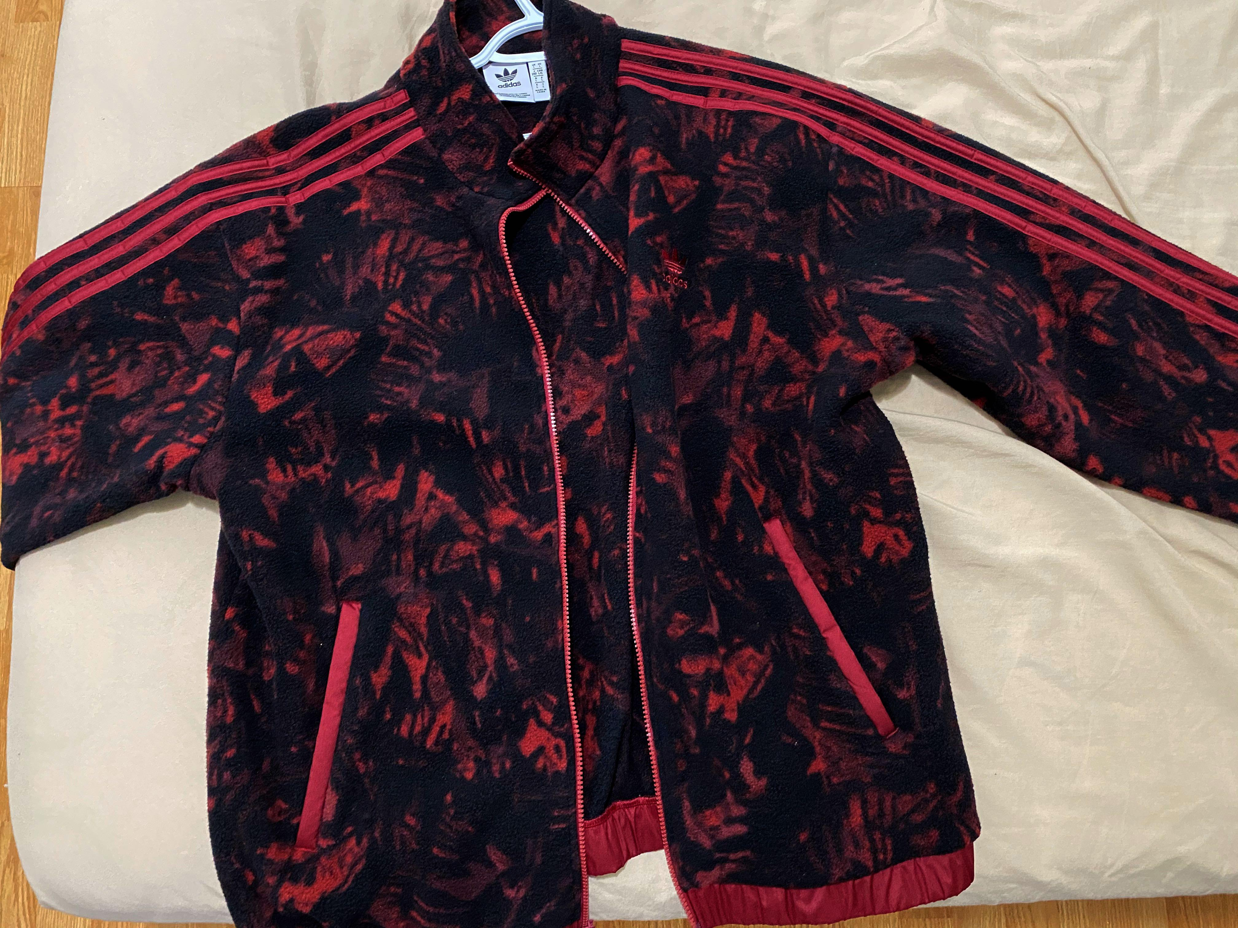 Adidas All over printed Jacket (L)