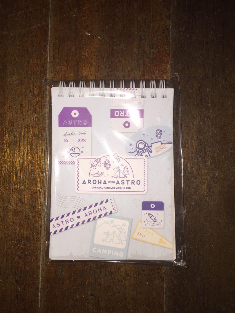Astro會員禮-記事本