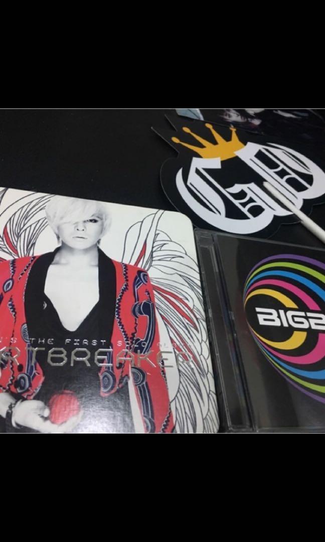 Big bang、G-Dragon 專輯