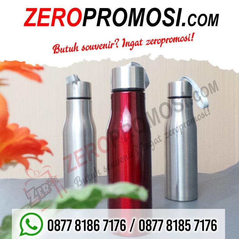 Botol minum stainless BT-08 untuk souvenir dengan custom logo
