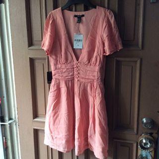 Brandnew Forever21 Peach Dress