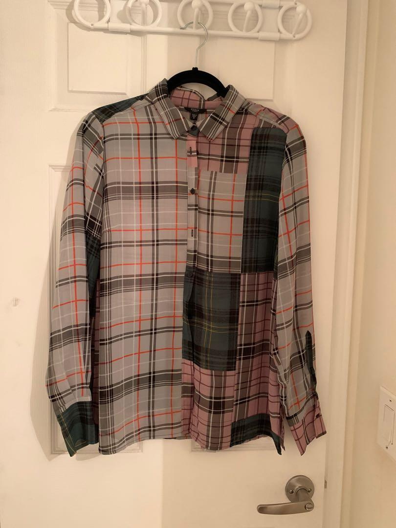 Burberry style check shirt (from guess)