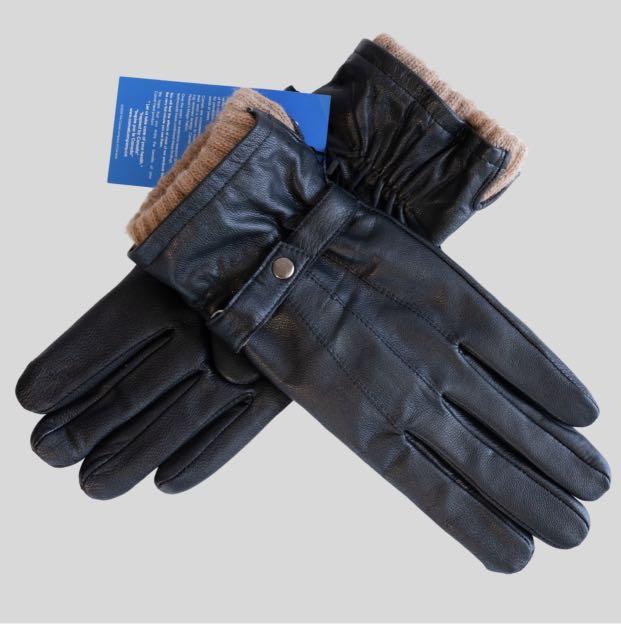 Camel wool women gloves