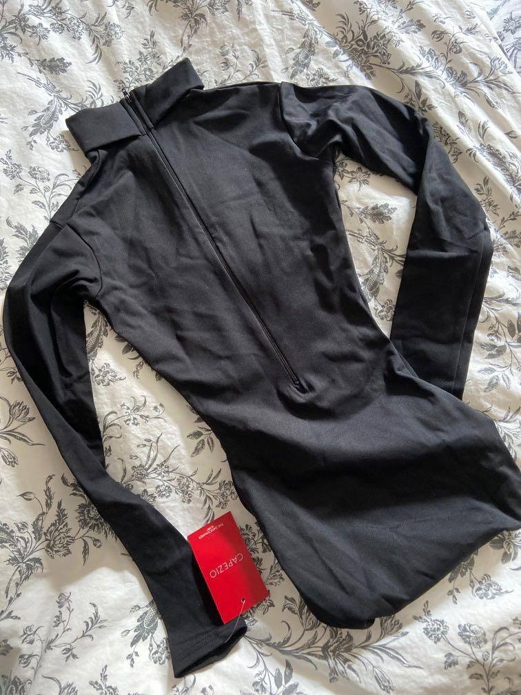 Capezio long sleeve bodysuit