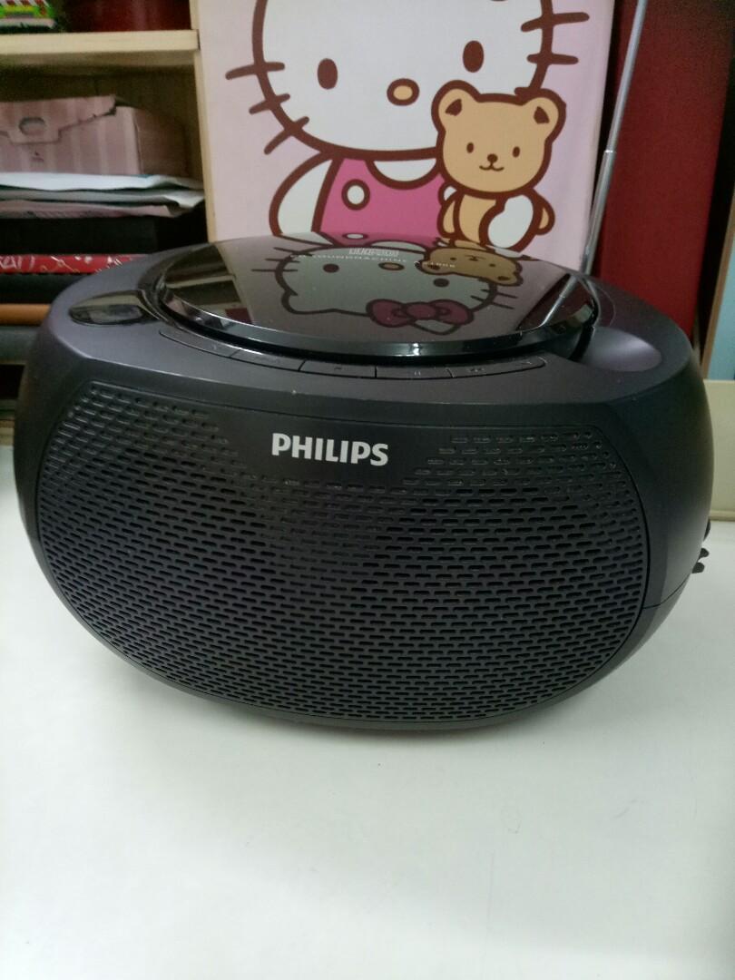 飛利浦便攜CD收音機