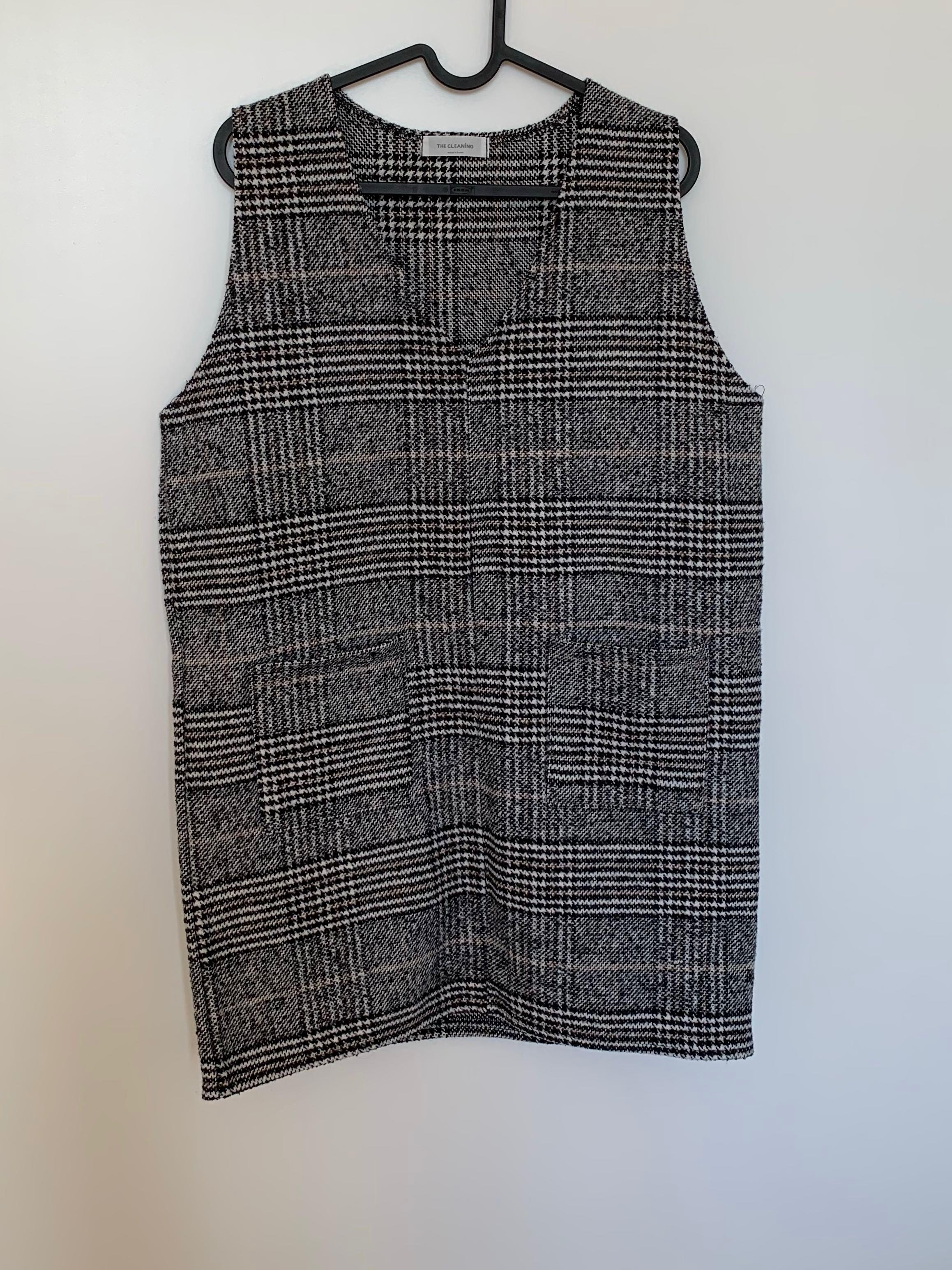 Checkered Dress (Worn Once)