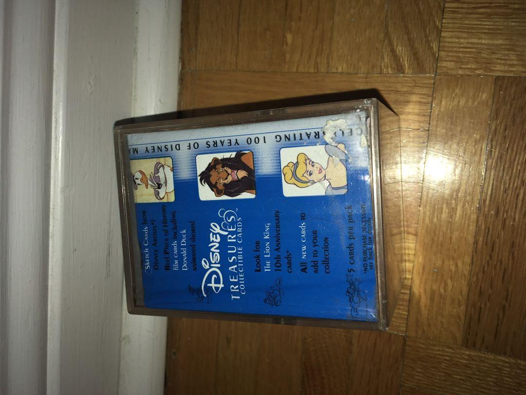 Collectible Disney Card Collection