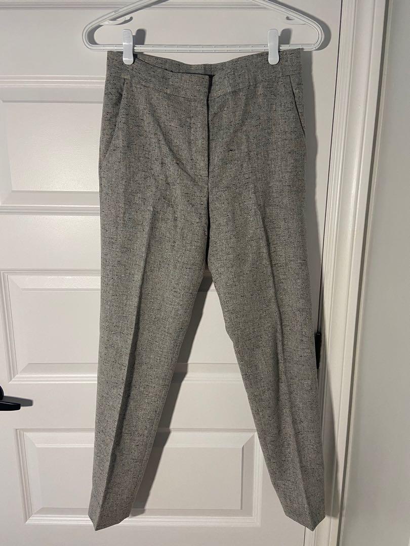 Cos wool slim-fit trousers women's 32