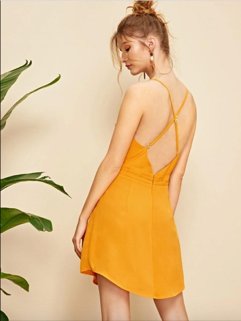Cross-back Summer Dress