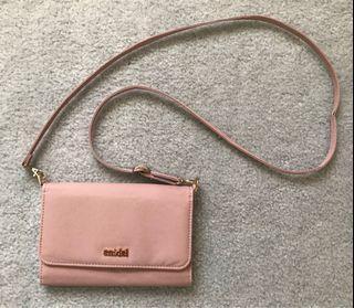 EUC Japan Snidel long sling satchel bag / wallet