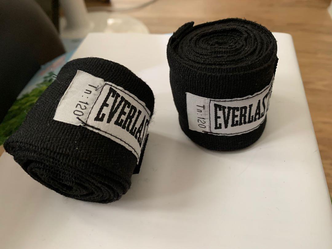 [二手]Everlasting拳擊手綁帶黑色