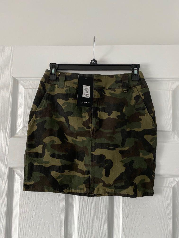Fashionova Militari Mini Skirt - S