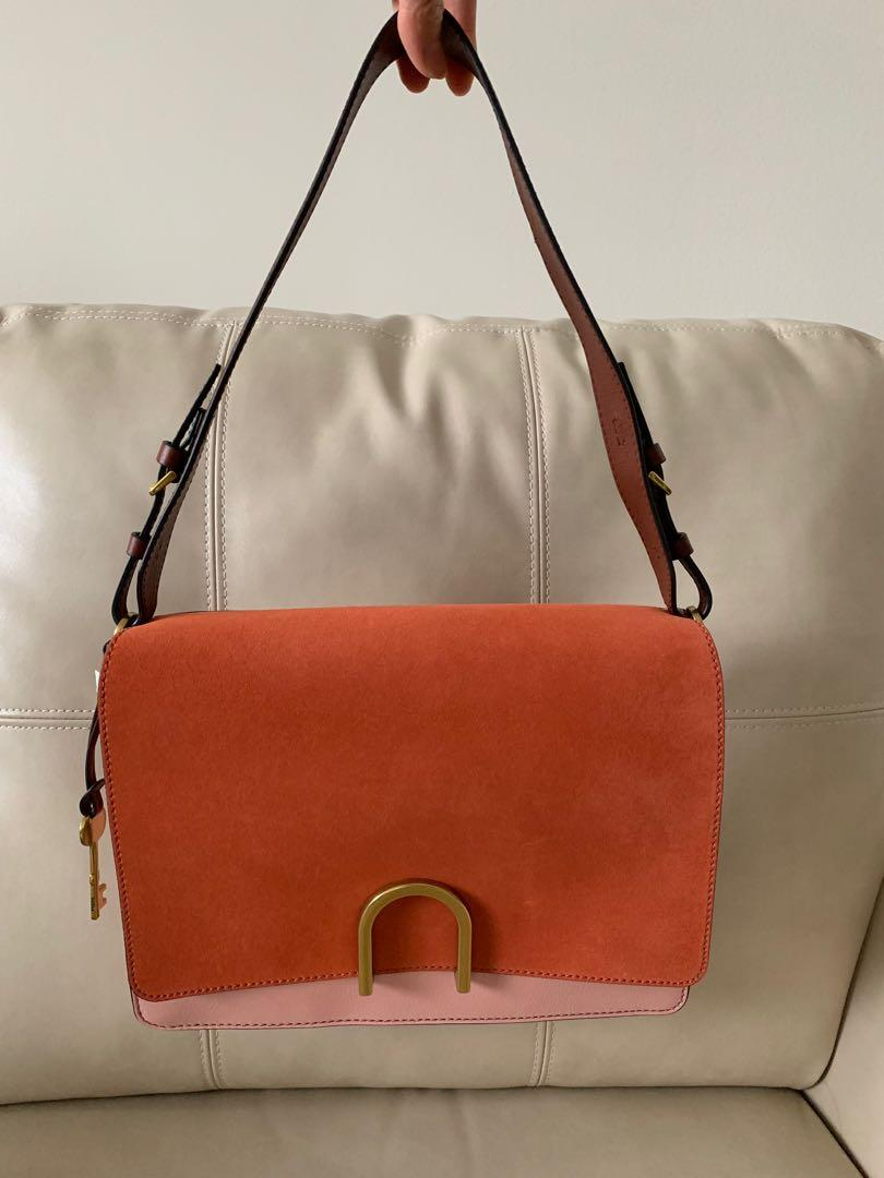 Fossil New With Tag Shoulder Bag