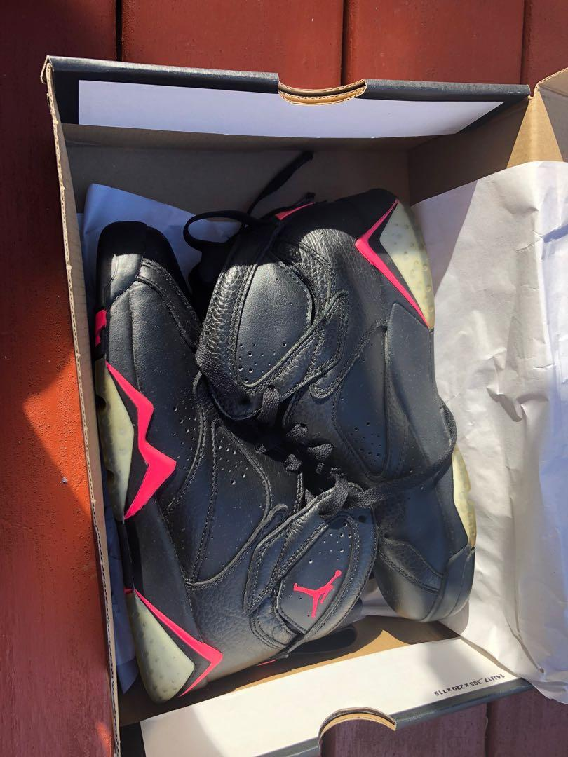 Gently used youth Air Jordan 7 Retro GG