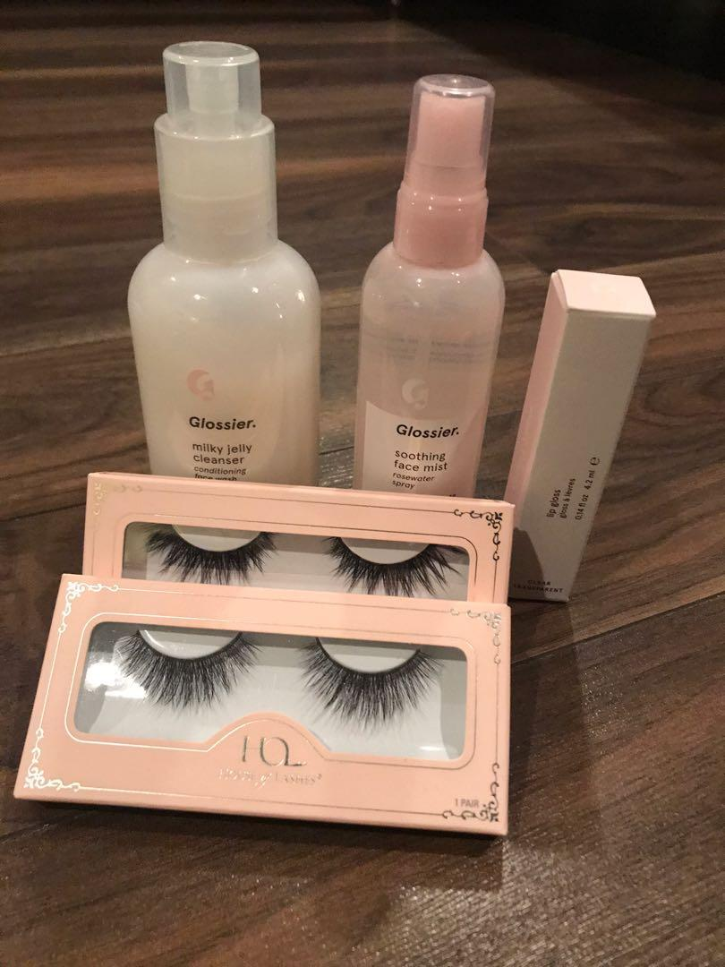 Glossier + House of Lashes Bundle