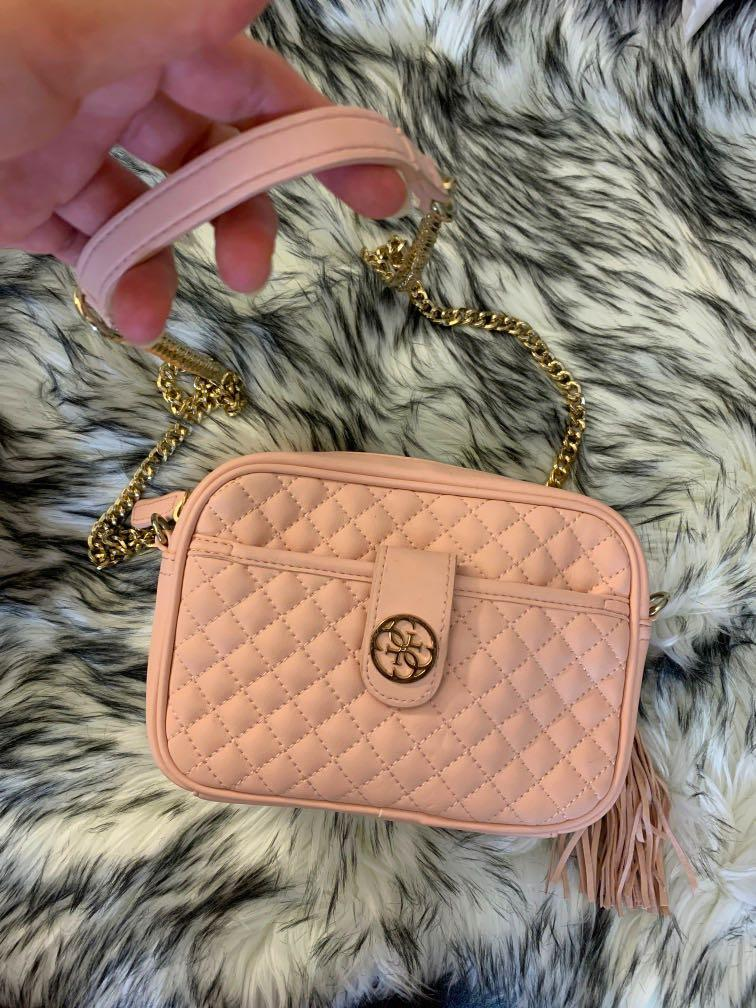 Guess crossbody bag in baby pink