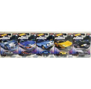 Hot Wheels Fast and Furious F&F Premium
