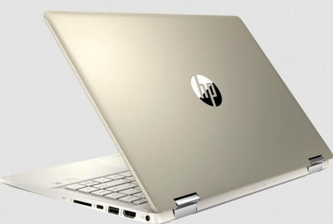 HP Pavilion X360 i3 10110U Ram 8 GB SSD 512 MX130 2 GB 14 Inch
