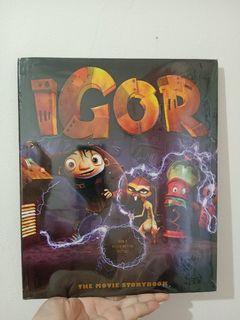 Igor the Movie Story Book